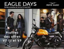 OPENS DOORS MOTO GUZZI - EAGLE DAYS